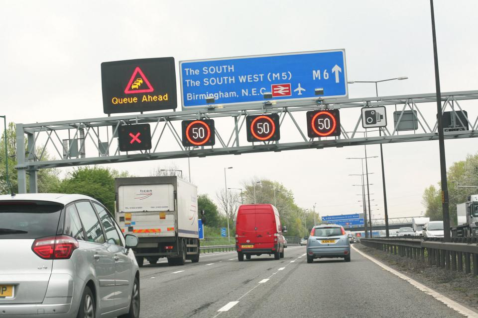 Smart motorway driving lessons